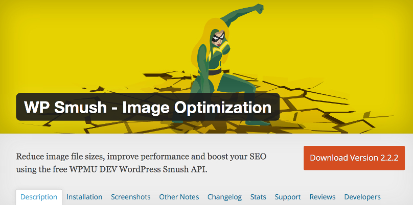 WordPres website sneller maken met WP Smush plugin image optimization